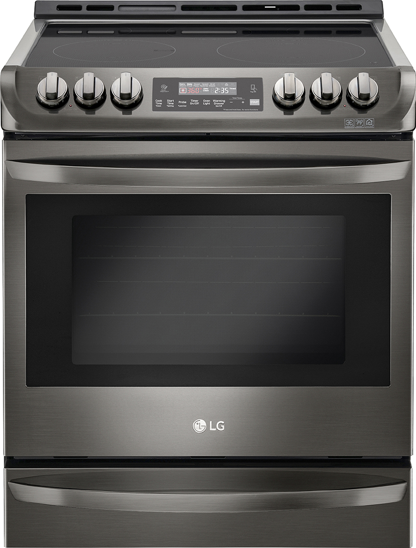 LG Self-Cleaning Slide-In Electric Convection Range