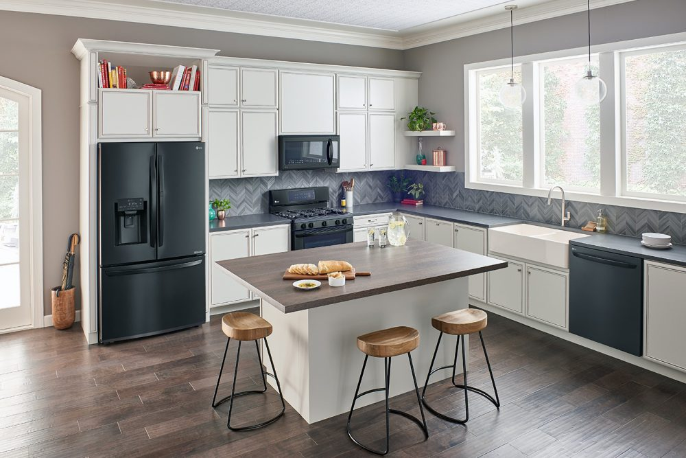 lg kitchen appliances cabinet with trash bin smart that keeps you updated editorials of angela ricardo appliance