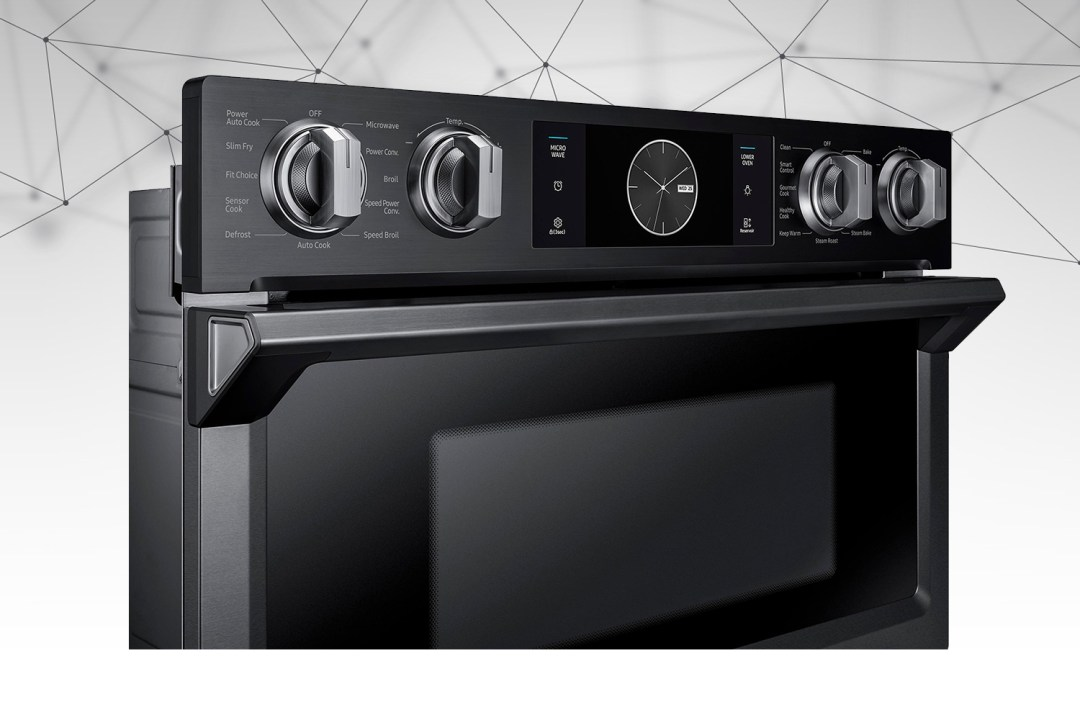 Samsung Microwave Combination Wall Oven with Flex Du