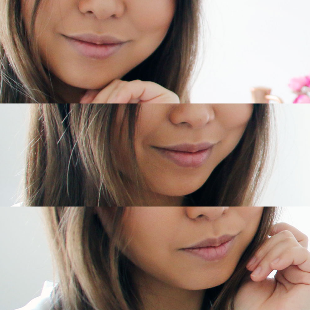 before PMD Kiss Lip Plumping System