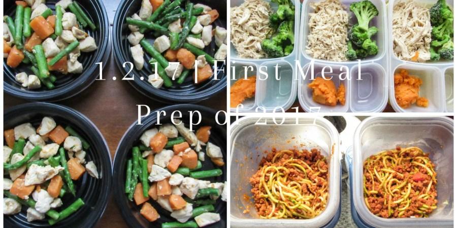 Meal Prep Sunday - 1.2.17