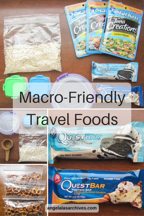 Macro-Friendly Travel Foods - My travel breakfasts and snacks to keep on track