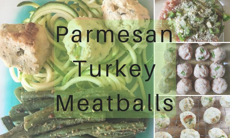 Parmesan Turkey Meatballs