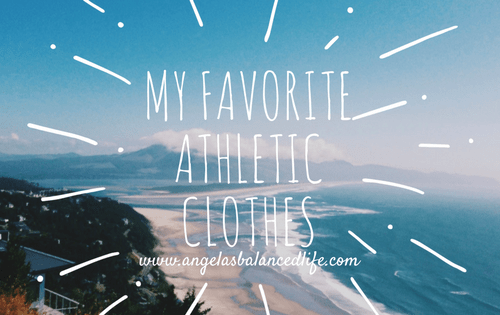 My Favorite Athletic Clothes