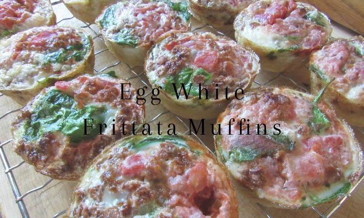 Egg White Frittata Muffin Breakfast Meal Prep