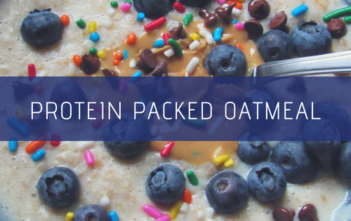 Protein Packed Oatmeal