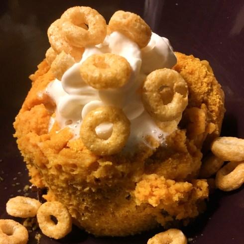 Protein Pumpkin Mug Cake