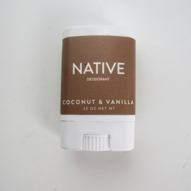 Native Deodorant Coconut Vanilla