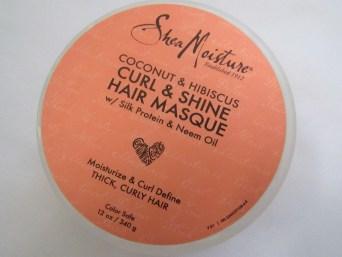 Shea Moisture Curly & Shine Hair Masque