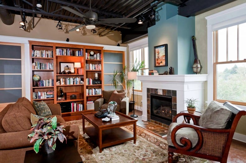 Interior Design Portland Donald Miller Sellwood Loft Craftsman