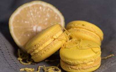 Lemon Flavored French Macaron Recipe