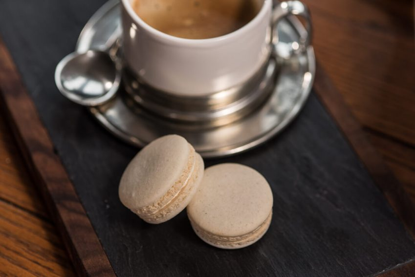 Almond French Macarons made with the Angel Bake French Macaron Mix.