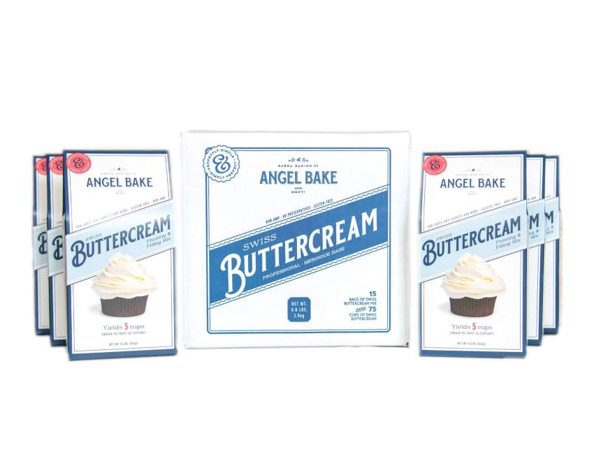 Swiss Buttercream and Professional Meringue mix