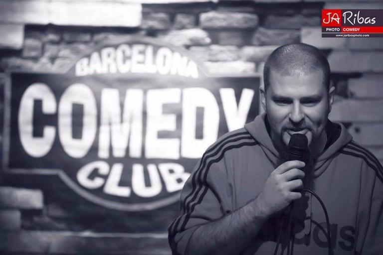 Presentando Barcelona Comedy Club (Fotografía de JaRibas Photo)