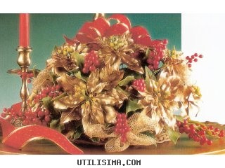 centro-mesa-navidad-flores-doradas