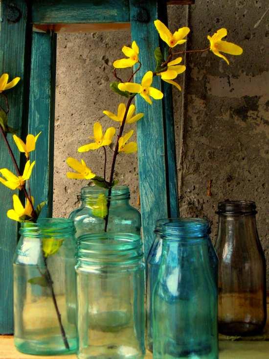 Como Decorar Botellas De Crtistal Con Flores Por Dentro