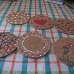 Posavasos de Corcho con Diseños