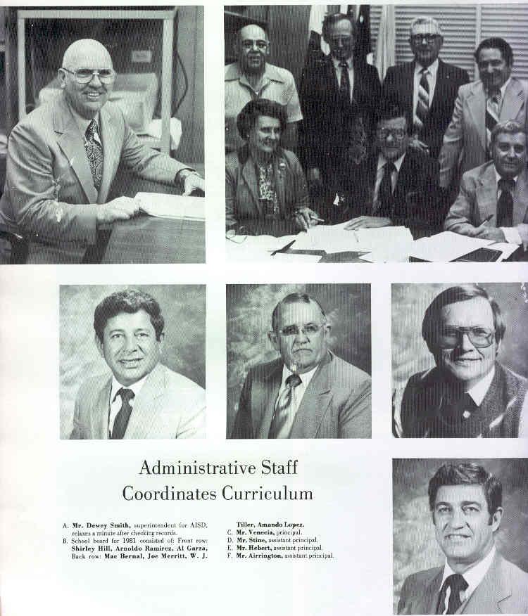 Alice School High 1981 Yearbook