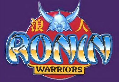 Ronin Warriors Merchandise