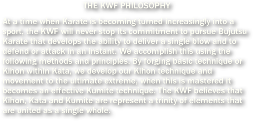 KWF Karate