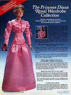 Princess Diana Doll Series