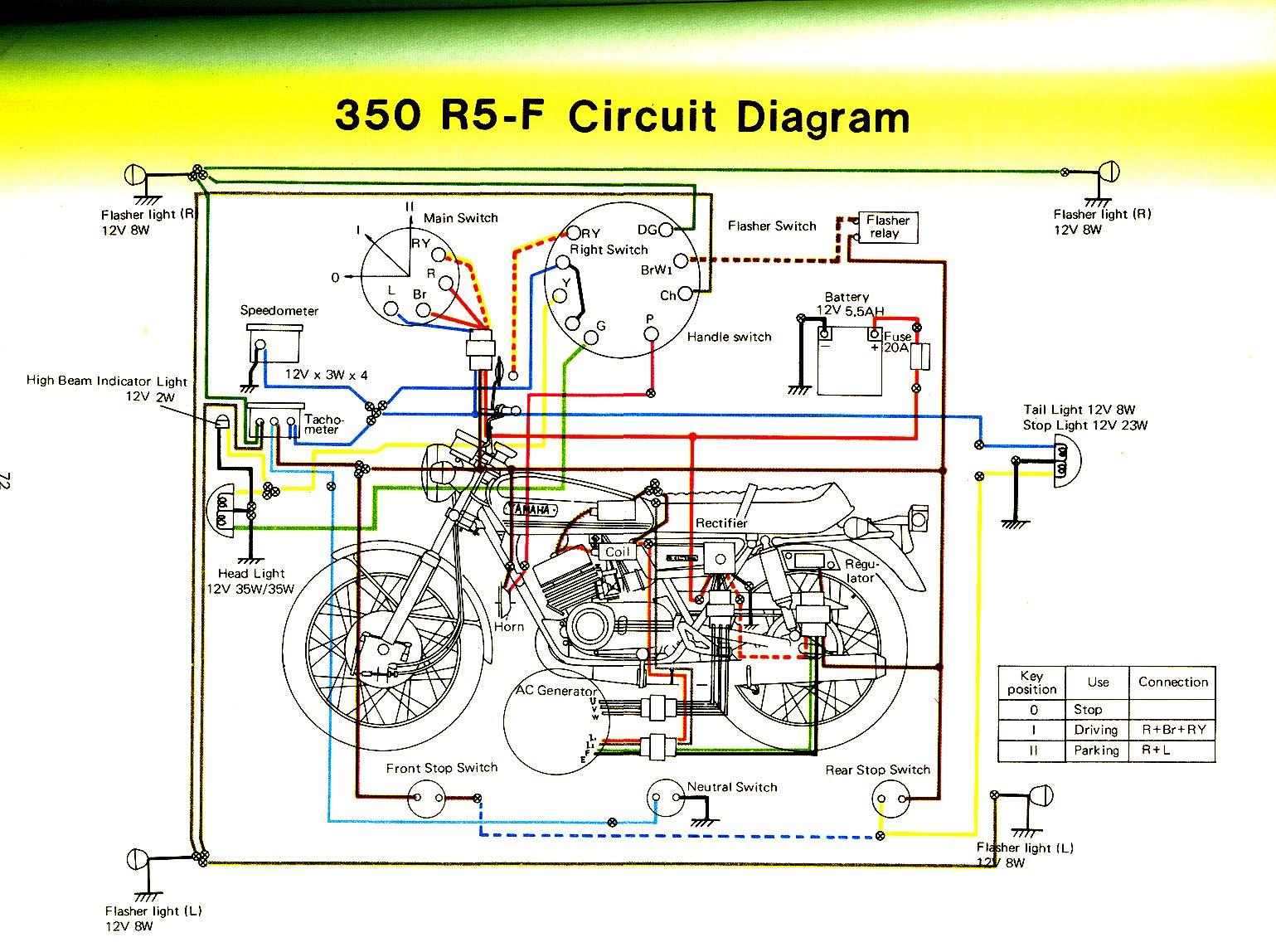 yamaha rd 350 wiring diagram diagrams 3way 28 images