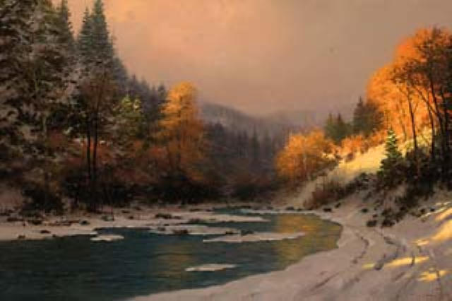 Free Early Fall Wallpaper Virtual Thomas Kinkade