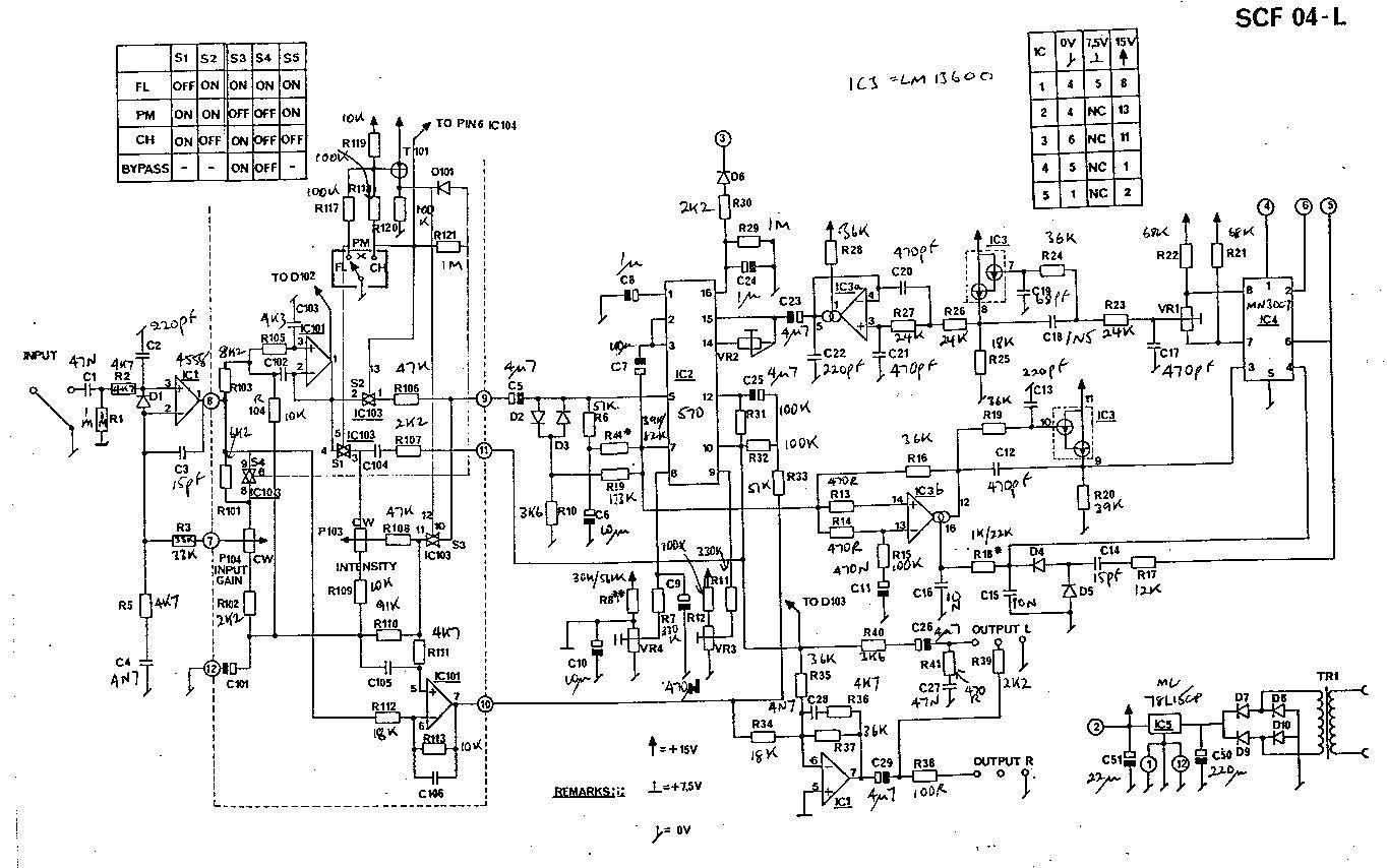 Tc Electronics Scf