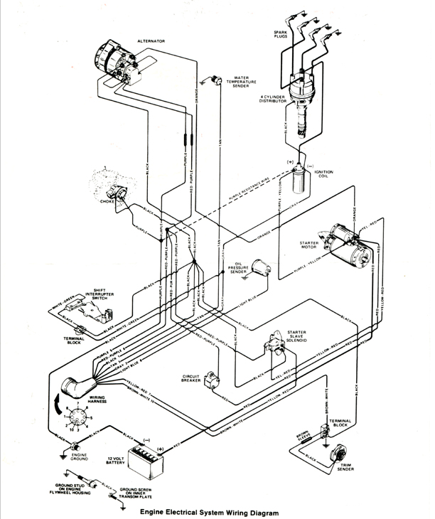 1990 Sea Ray Wiring Diagram