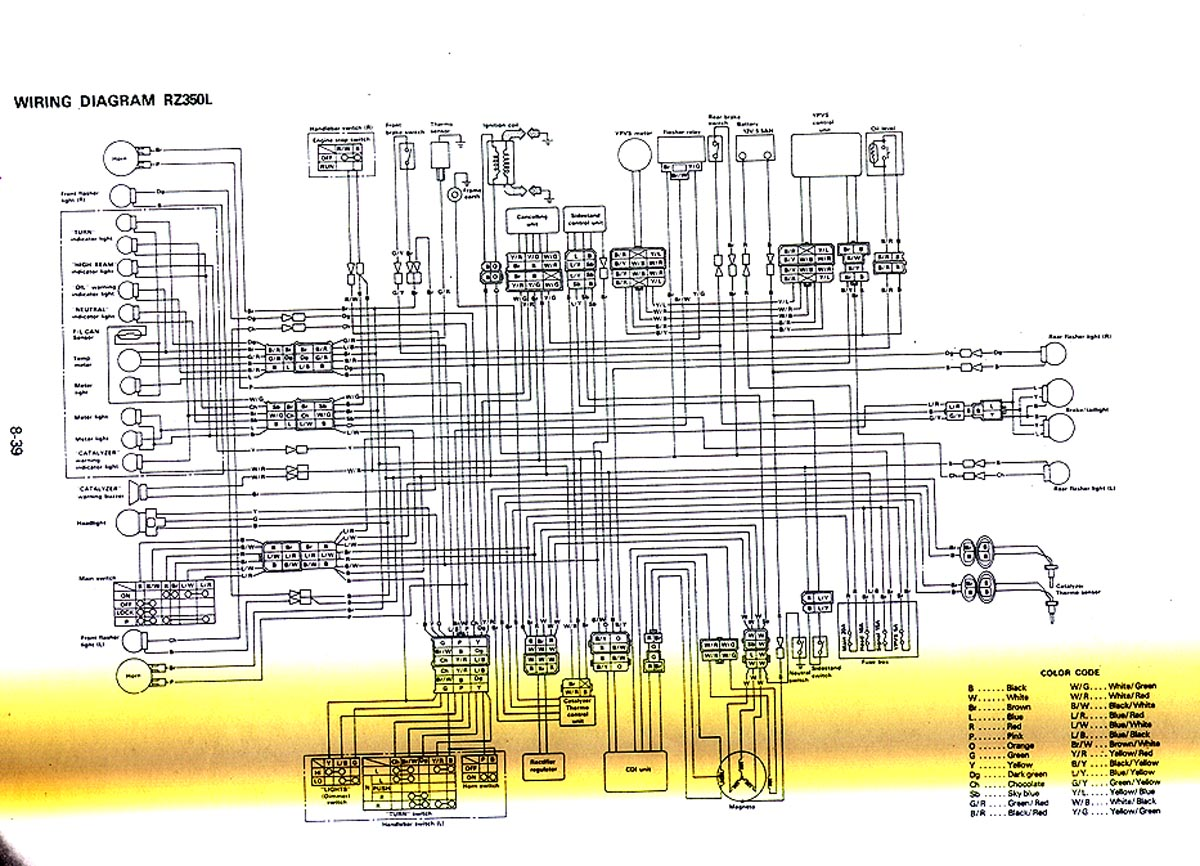 yamaha rd 350 wiring diagram diagrams two way usb connector qt50 free engine image for
