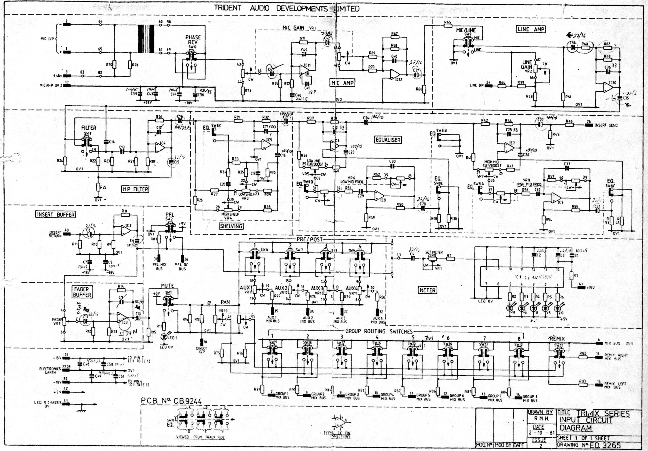 Trident Series 70 Eq Mod Help