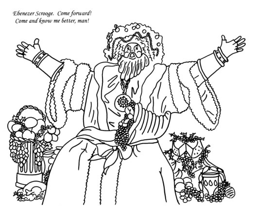 dickens christmas carol coloring pages – We and Stars