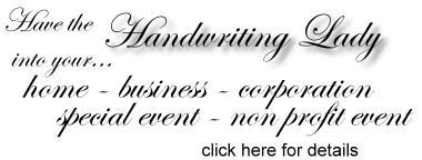 Cincinnati Handwriting Analysis, graphology, graphotherapy