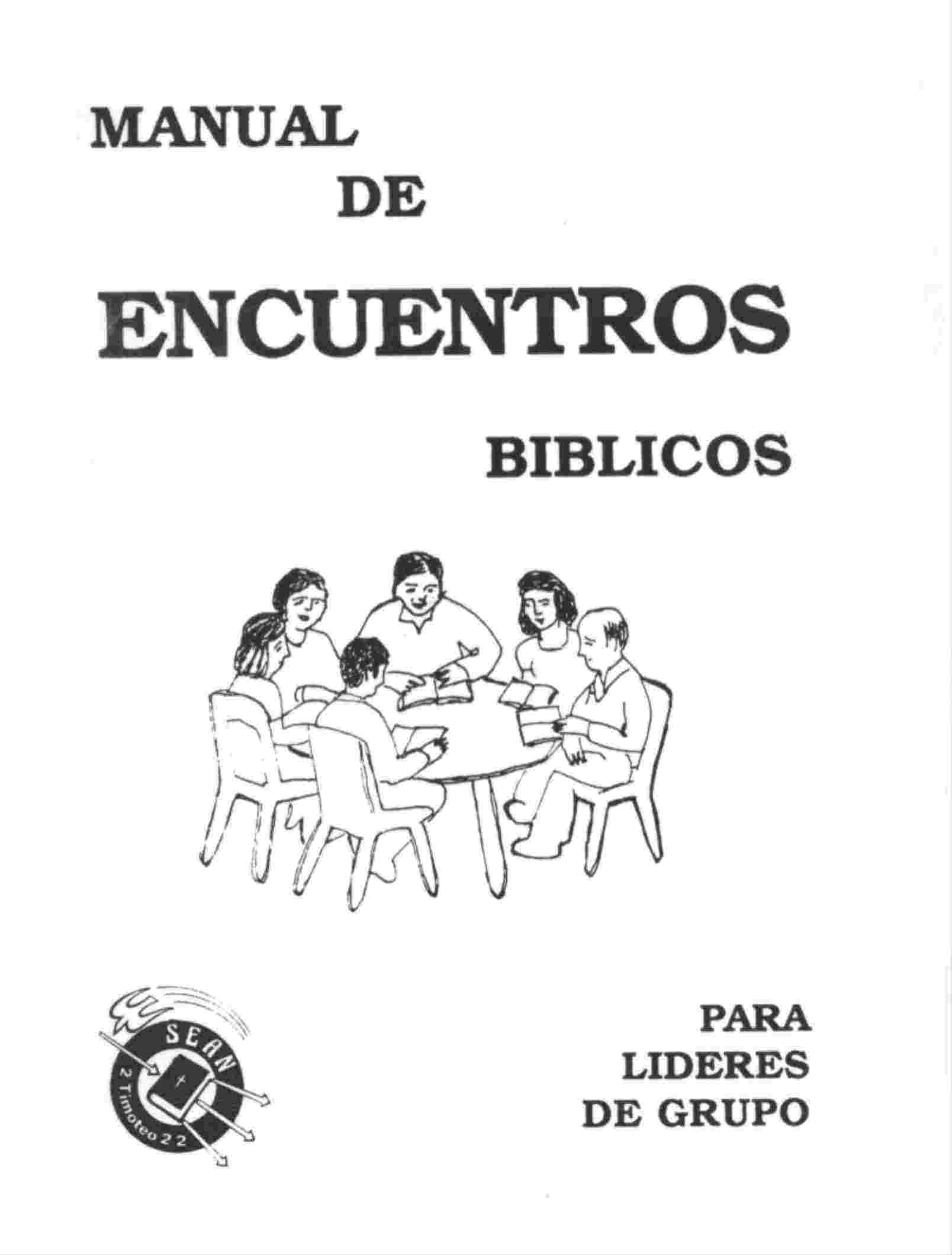 Manualde Encuentros Bíblicos.