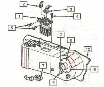 Replacing evaporator core 1992 Cadillac Eldorado/Seville