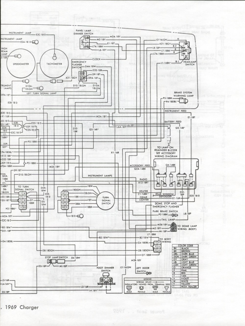 medium resolution of 1969 dodge charger wiring diagram