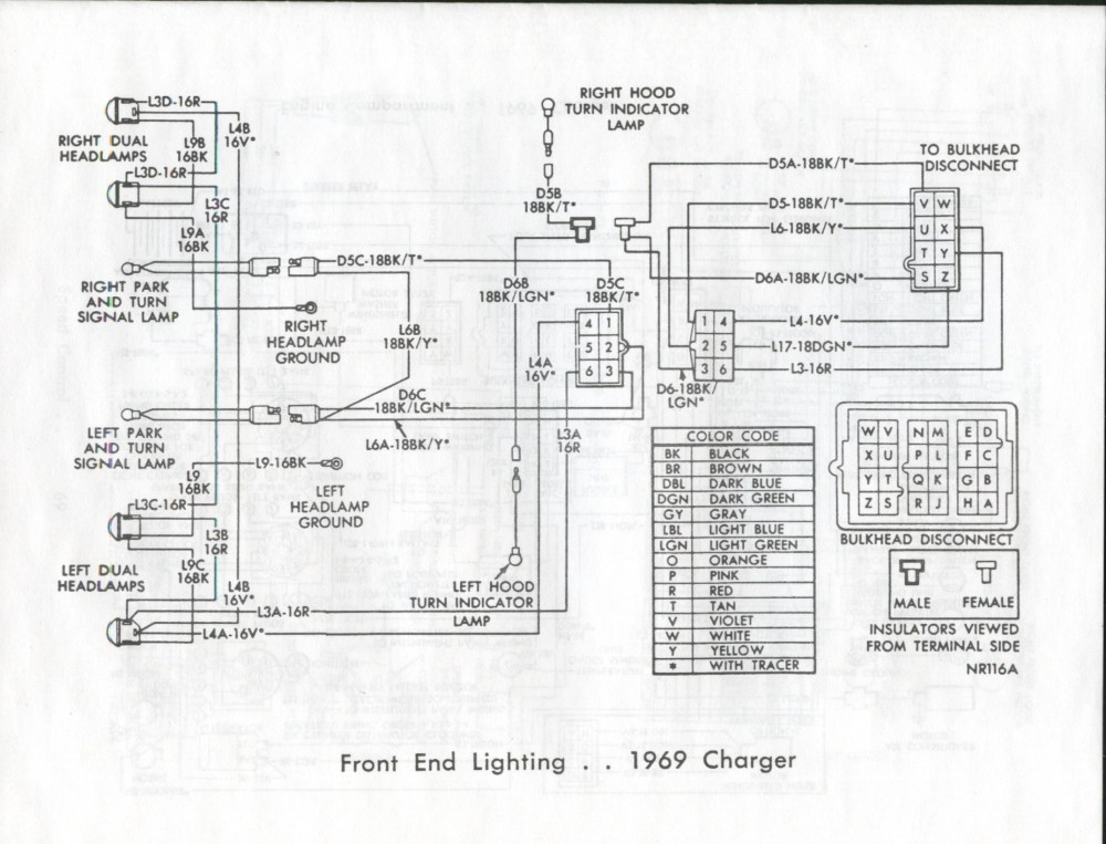 medium resolution of 1969 dodge charger wiring harness diagram wiring diagram 69 charger headlight wiring diagram