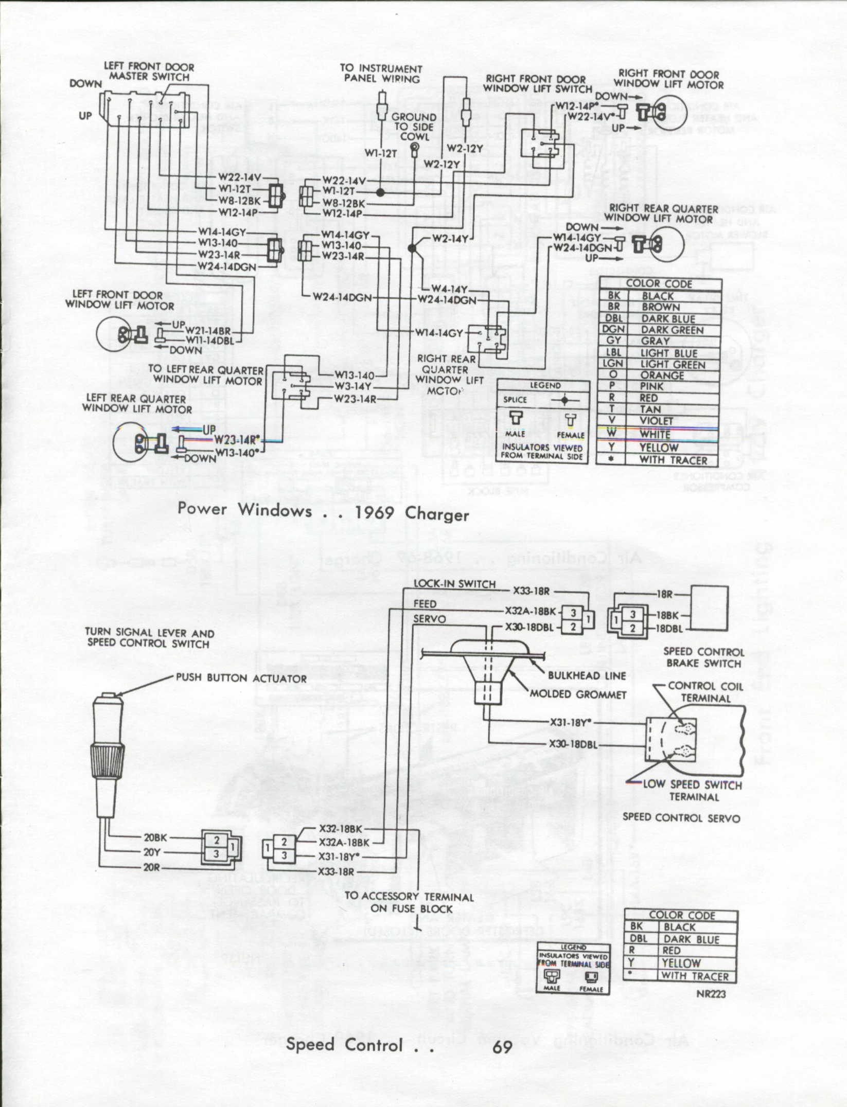 1969 camaro rear wiring harness route