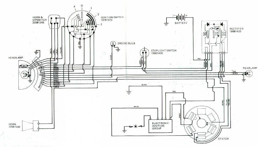 Re: Wiring diagram for a '80 Serveta with battery