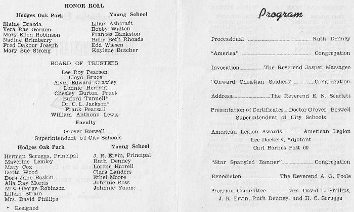 RHS Class of 1946-Grade school