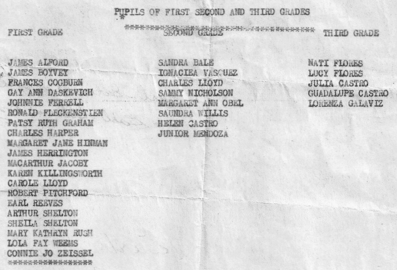 RHS Class of 1960-St. Rita's School