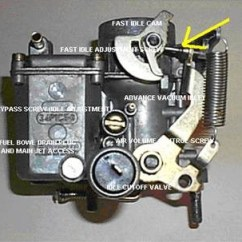 Vw 1600 Engine Diagram Standard Light Switch Wiring Solex 34 Pict 3 Carburetor Adjustment And Tune Up Procedures Setting The 34pict