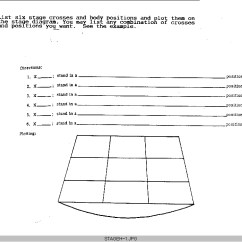 Blank Theatre Stage Diagram Wiring For House Db Stdir2