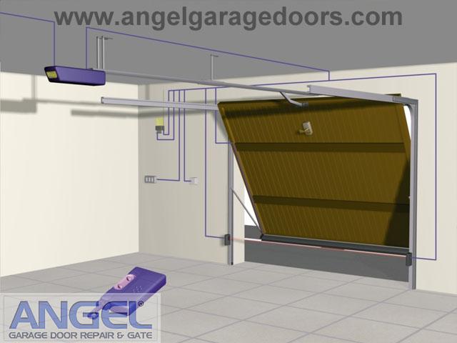 One Piece Garage Doors  Angel Garage Door Repair and Gate