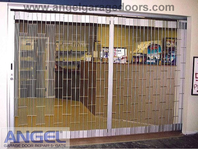 Storefront Gate Installation  Angel Garage Door Repair 877 6167770