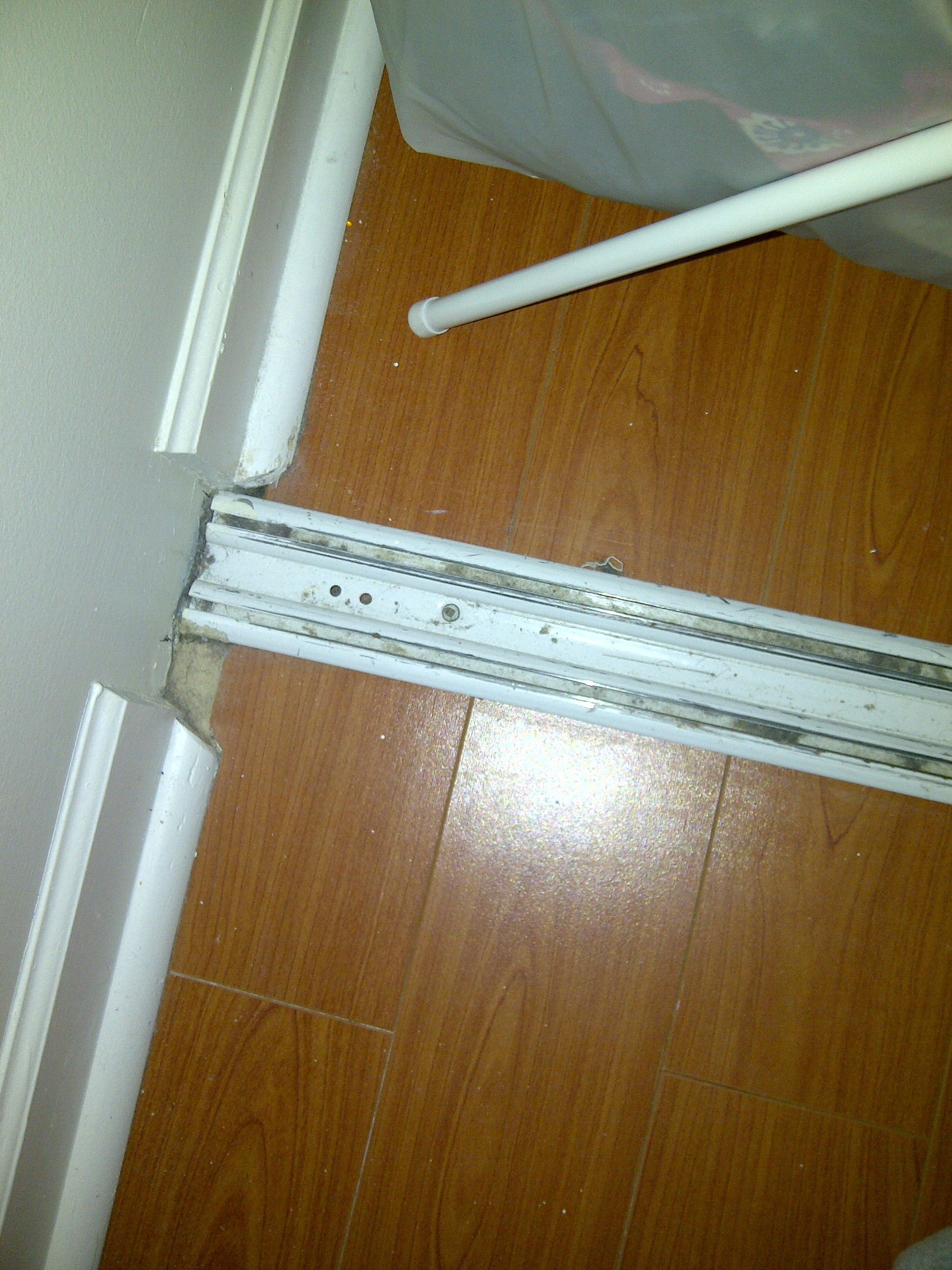 Closet Door Bottom Track