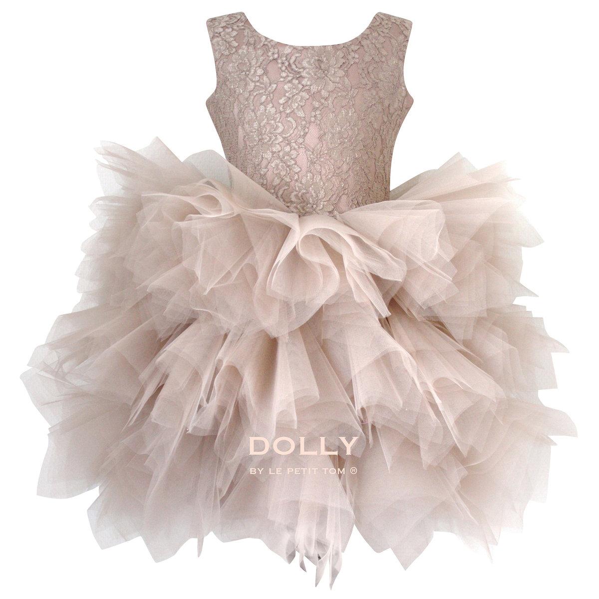 ballerina style taupe tutu