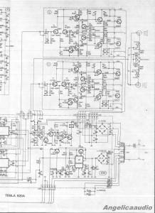 Tesla 820A schema : Angelicaaudio 1990