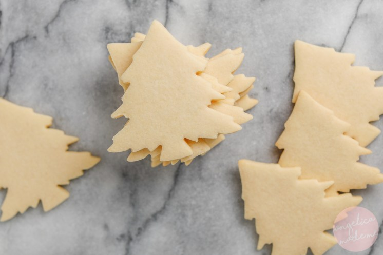 Easy Christmas Tree Cookies