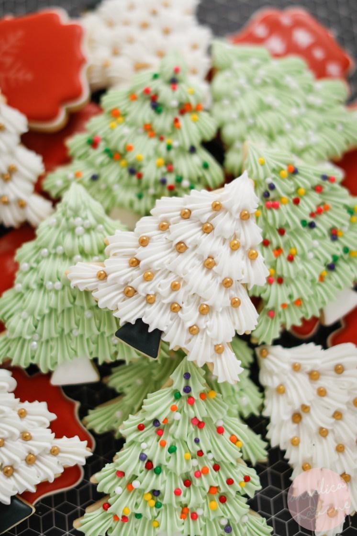 Easy Christmas Tree Cookies